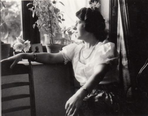 Julia Tulkens in haar jonge jaren